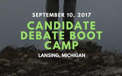 Candidate Debate Boot Camp
