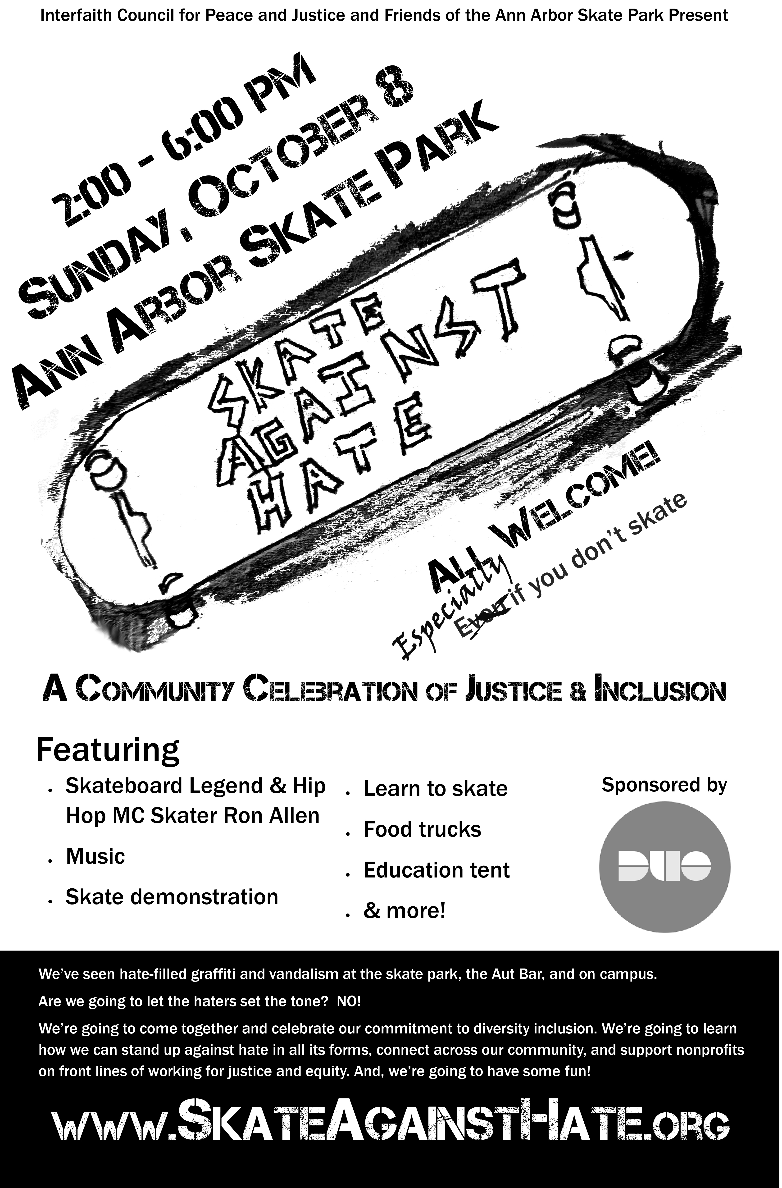 Skate Against Hate