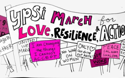 Ypsi March for Love, Resilience, and Action 2018