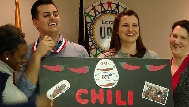 Southwestern Wayne Democratic Club Chili Cook-off w s g  Rep