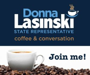 Join State Rep. Donna Lasinski for coffee & conversation