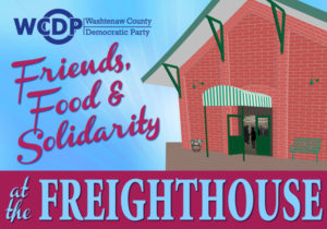 Friends, Food and Solidarity at the Freighthouse