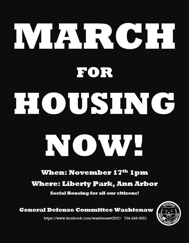 flyer Housing March