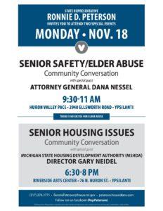 Rep. Ronnie Peterson on Senior Housing Issues with MSHDA Dir. Gary Neidel