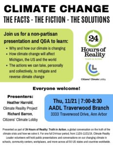 Climate Change: the Facts – the Fiction – the Solutions