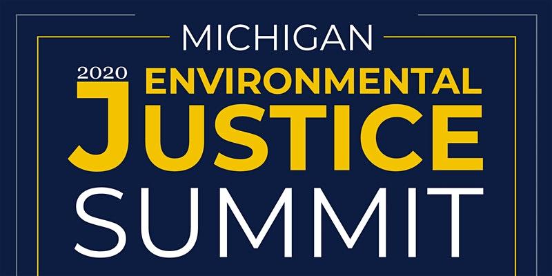 MI Env Justice Summit flyer