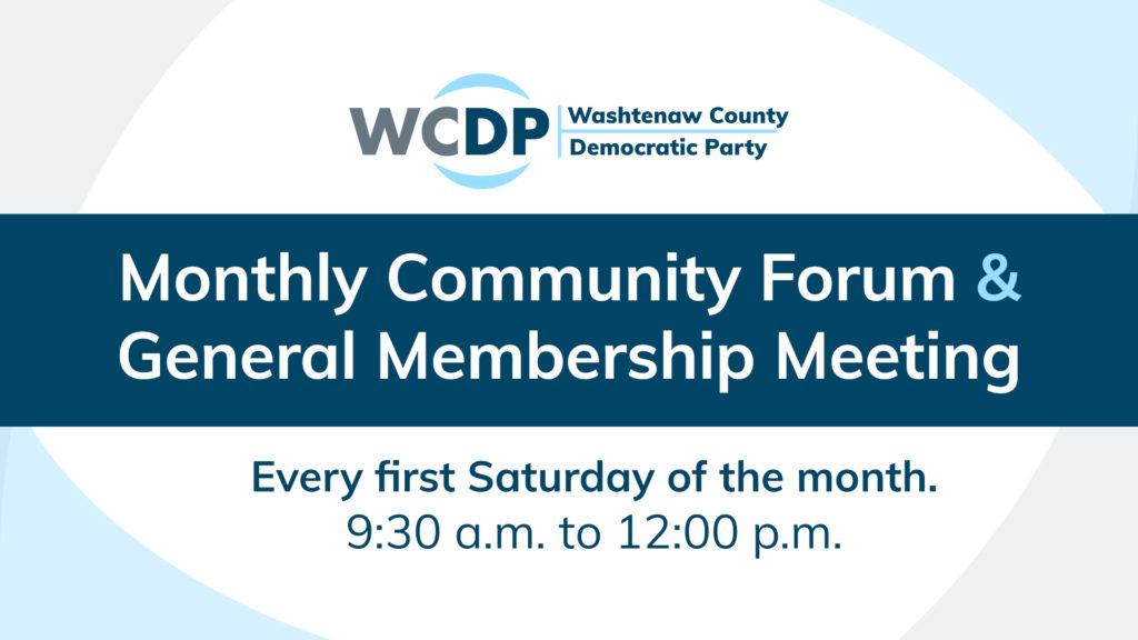WCDP community forum