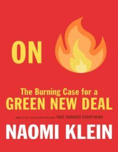 """WCDP Book Club Reads """"On Fire"""" by Naomi Klein"""