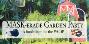 MASK-erade Garden Party