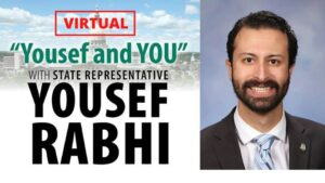 """Yousef and You"" with State Rep. Yousef Rabhi"