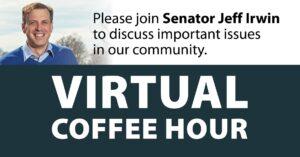 Virtual Coffee Hour with Senator Jeff Irwin